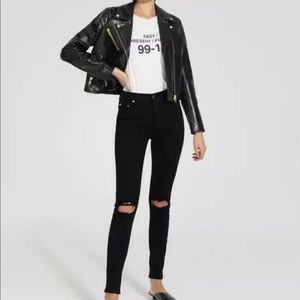Nobody Jeans 27 9 Cult Ankle High Rise Skinny Leg